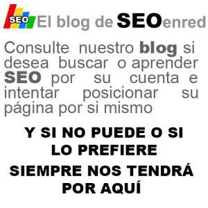 El blog de SEOenred - Consulte lo que no sepa